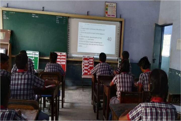Kendriya Vidyalaya-Smart Classroom