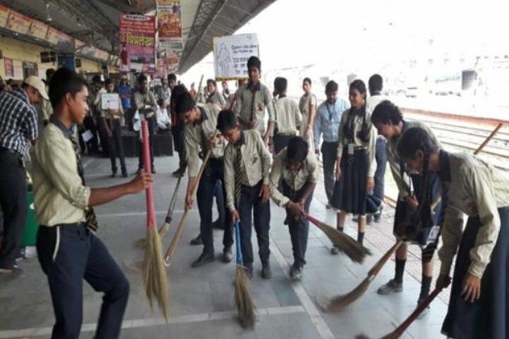 St Michaels Academy-Cleanliness Drive