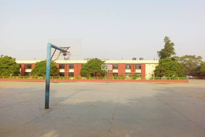 Kendriya Vidyalaya- Basket Ball Court