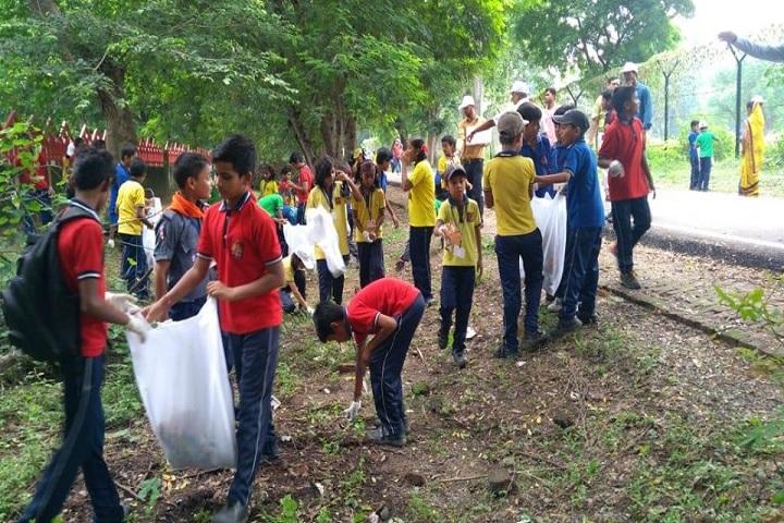 Kendriya Vidyalaya-Cleaning The Campus