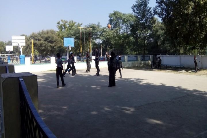 Kendriya Vidyalaya-Basketball-Court
