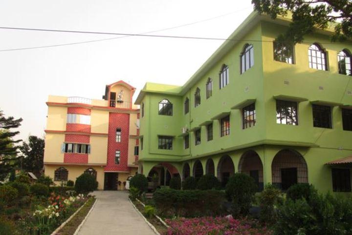 St Peters School English Medium-Building