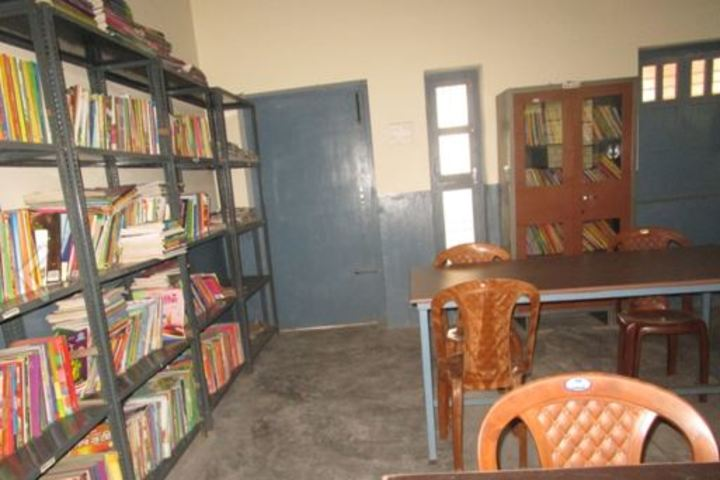 St Peters School English Medium-Library