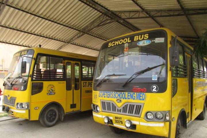 St Peters School English Medium-Trasport