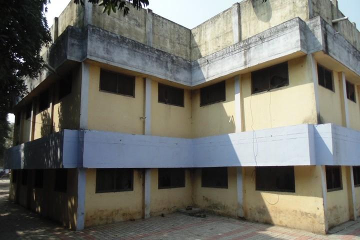 Kendriya Vidyalaya-Rear View Of School Building