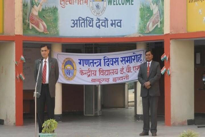 Kendriya Vidyalaya E B S-Speech