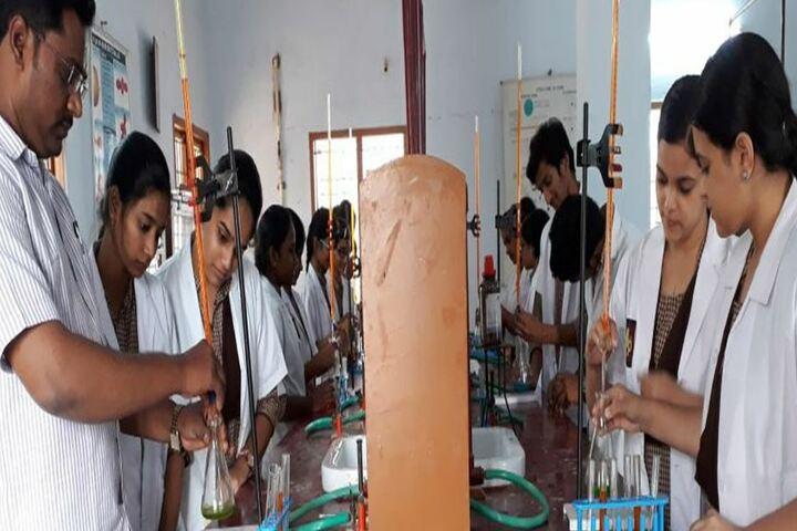 Dr Kondabolu Lakshmi Prasad Public School - Chemistry Lab