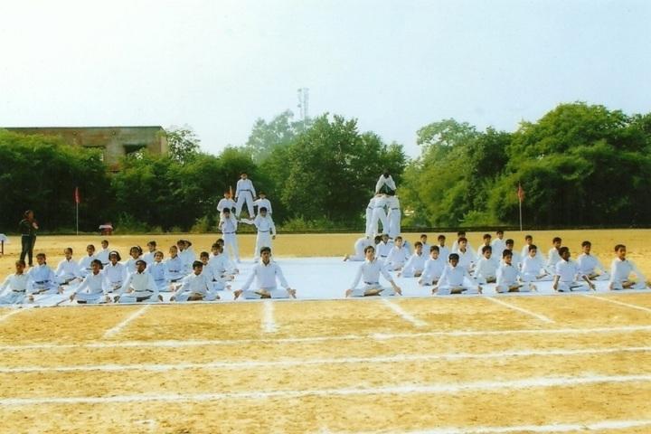 Keshari Devi Kanoria Vidya Mandir-Yoga day