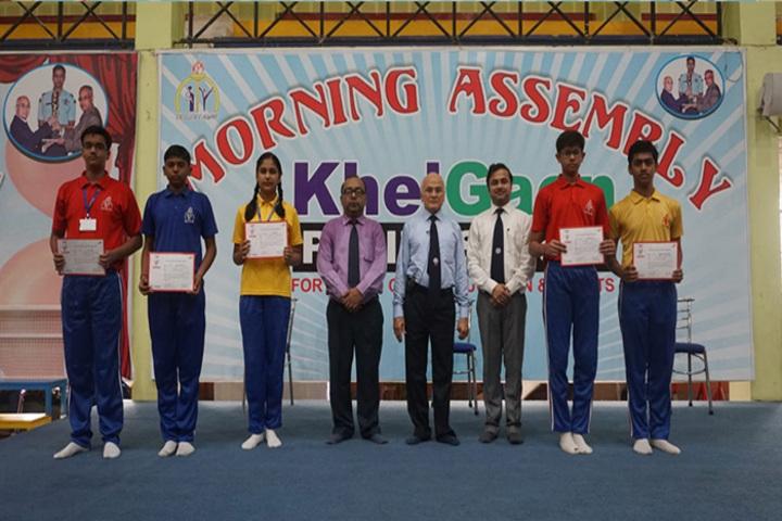 Khelgaon Public School-Certificate Distribution