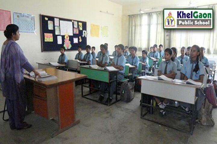 Khelgaon Public School-Classroom View