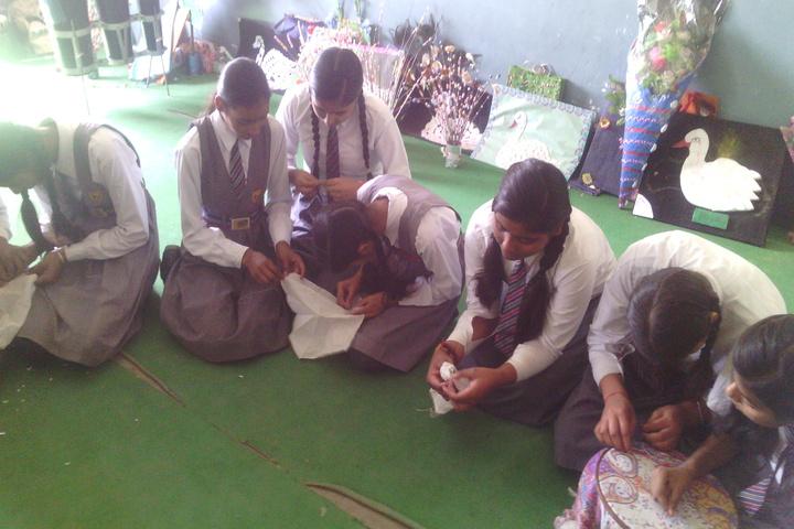 Krishna Academy-Embrodiery Work