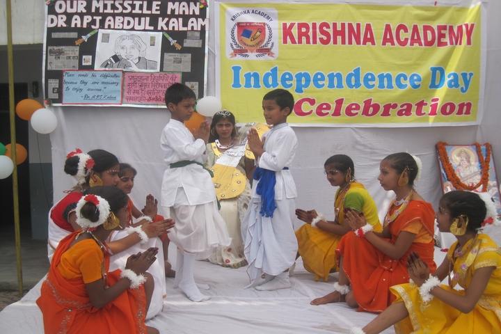 Krishna Academy-Independence Day Celebrations