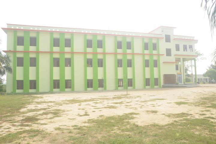 Krishna Academy-School Side View
