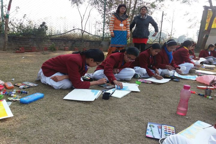 Krishna International School-Drawing Competition