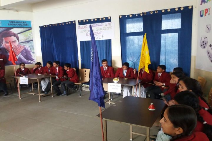 Krishna International School-Inter House Maths Quiz