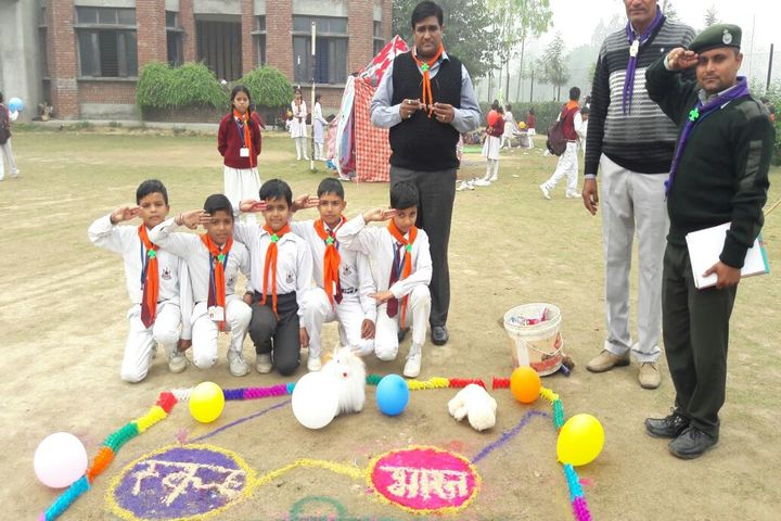 Krishna International School-Scout Activity