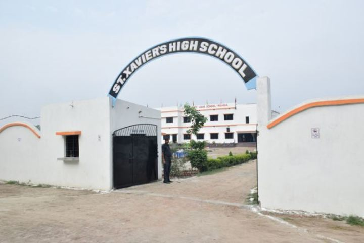 St Xaviers High School-Gate View