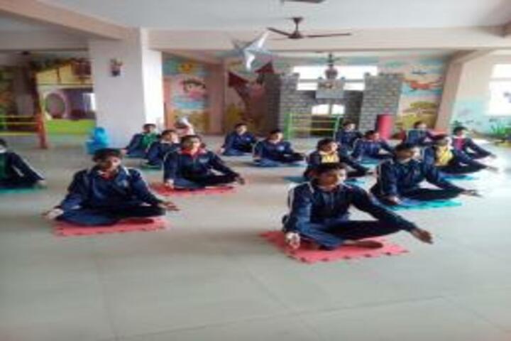 Krishna Public School-Yoga Class