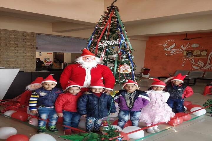 Krishna Public School-Christmas Day Celebrations