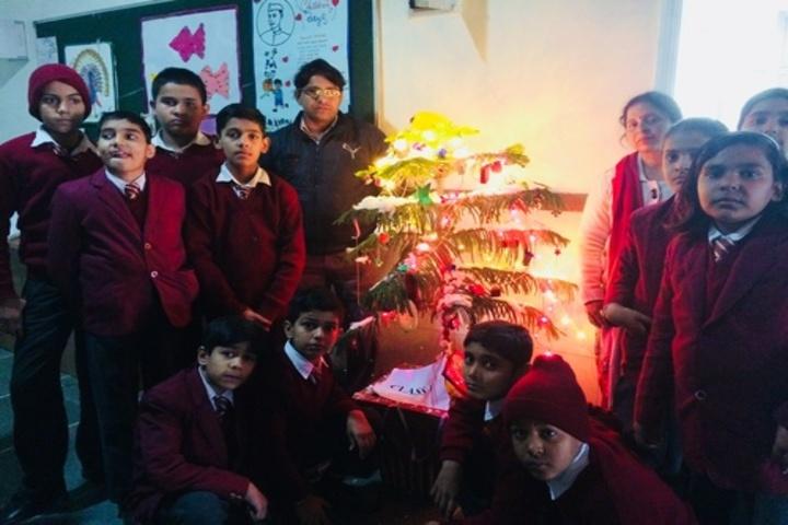 Kumkum Modi Public School-Christmas Celebrations