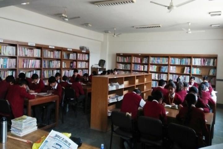 Kumkum Modi Public School-Library