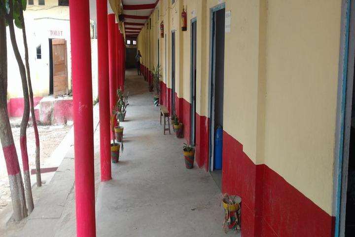 Kunwar Convent School-Campus Corridor