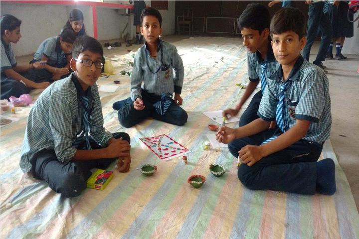 Kunwar Convent School-Diya Competition