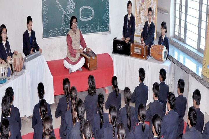 Kunwar Convent School-Music Class