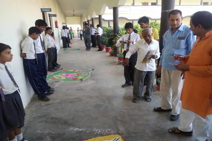 Kunwar Public School-Rangoli Competetion
