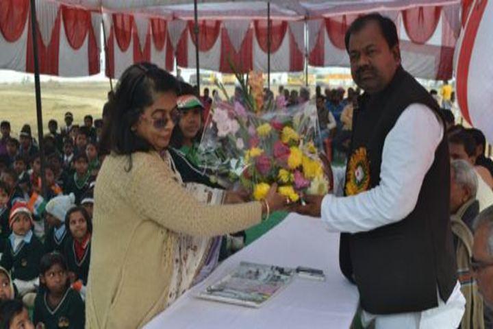 Kunwar Public School-Welcoming Cheif Guest