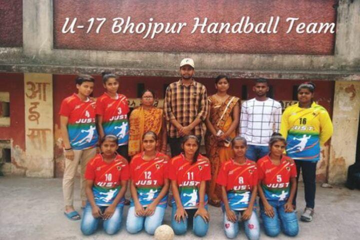 St Xaviers School-Handball Team