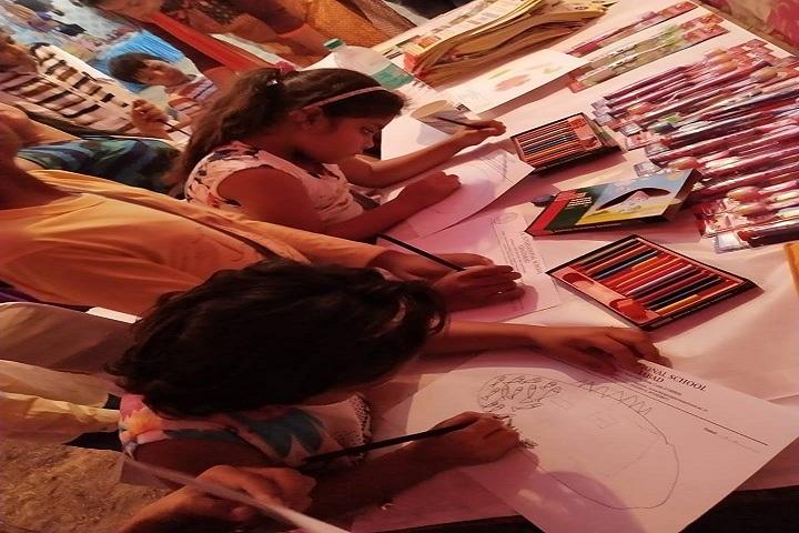 L K International School-Drawing Event