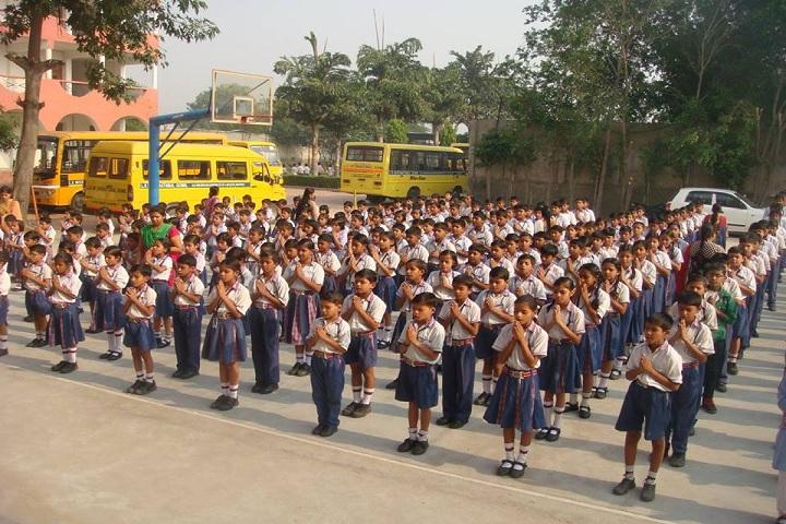 L K International School-Morning Assembly
