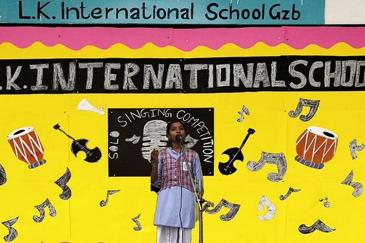 L K International School-Singing Competition