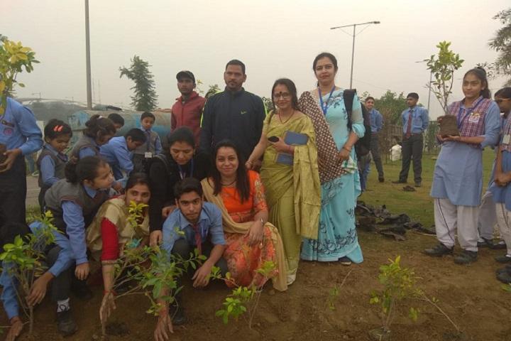 L K International School-Tree Plantation