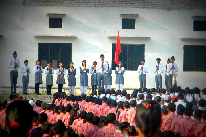 L S P Public School-Morning Assembly