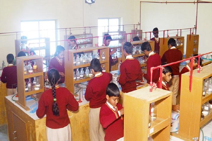 Lagna Devi Tarakant Senior Secondary School-Chemistry Lab
