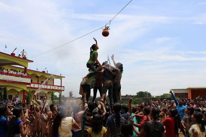 Lagna Devi Tarakant Senior Secondary School-Krishnastami Celebrations