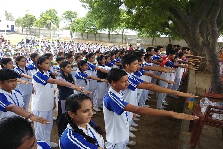 Lakshya Public School-Assembly