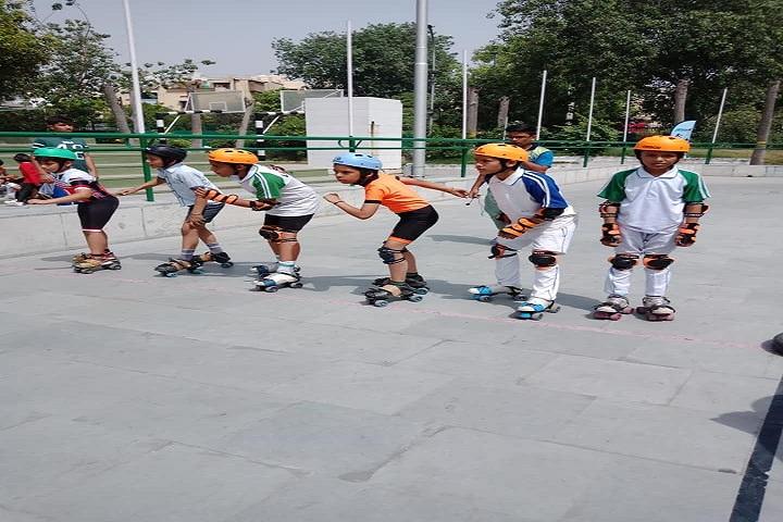 Lakshya Public School-Skating