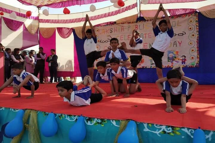 Lakshya Public School-Yoga day