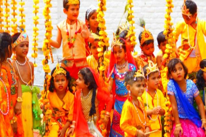 Lala Shambu Dayal Dav Public School-Janmashtami Celebration