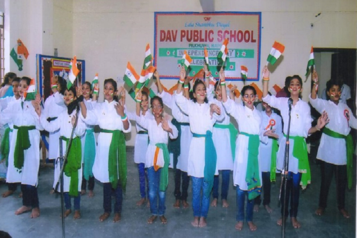 Lala Shambu Dayal Dav Public School-Independence Day