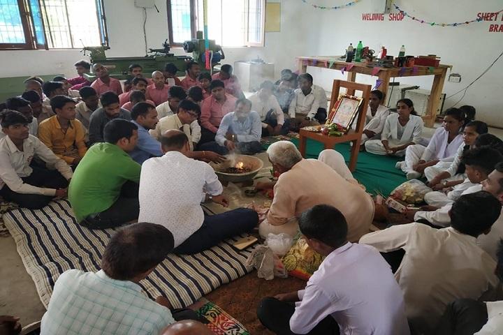Lalsa International School-Pooja Ceremony