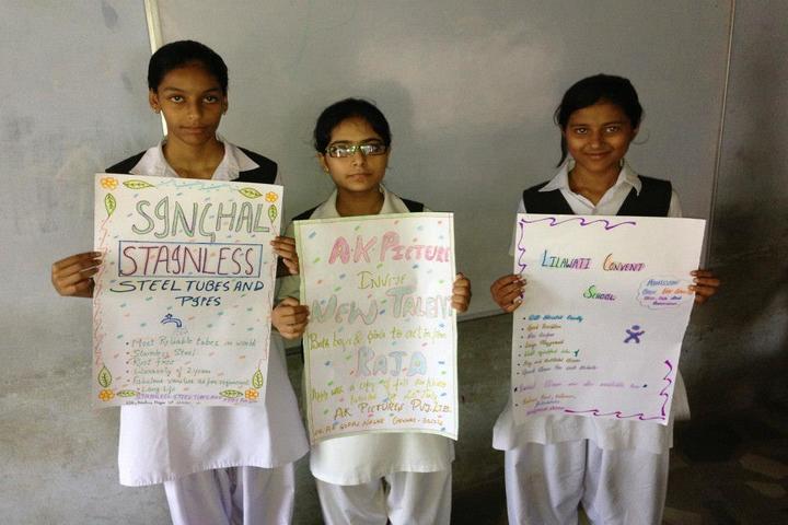 Lilawati Convent School-Poster Presentation