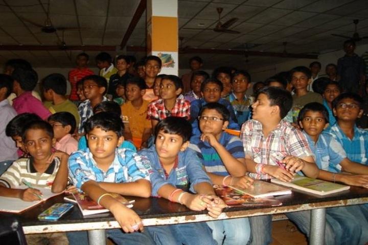 Dr KKR Gowtham English Medium School-Students