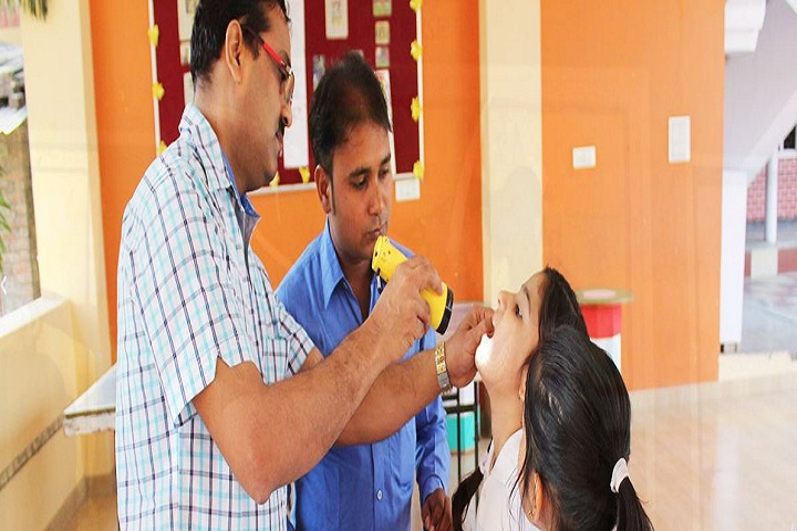 Little Angles School-Medical Checkup