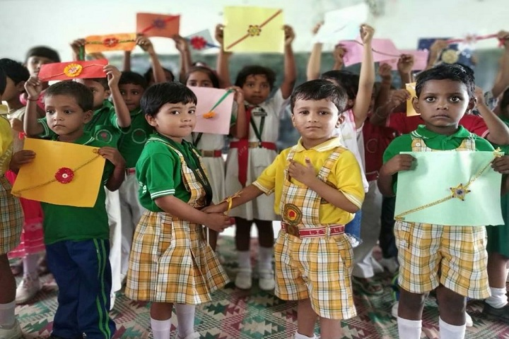 Little Flower Children School-Raksha Bandhan