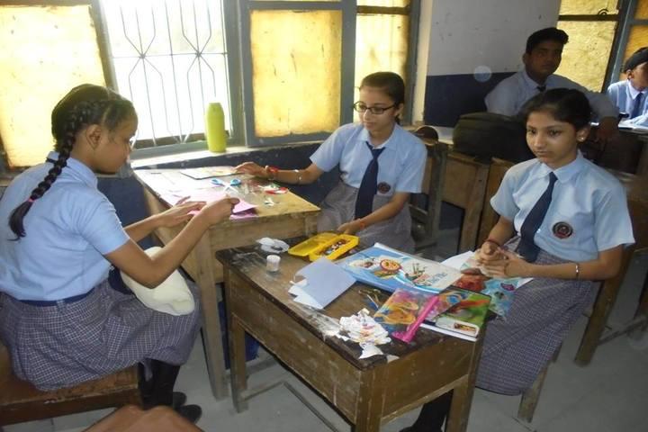 Little Flower Convent School-Art-Craft