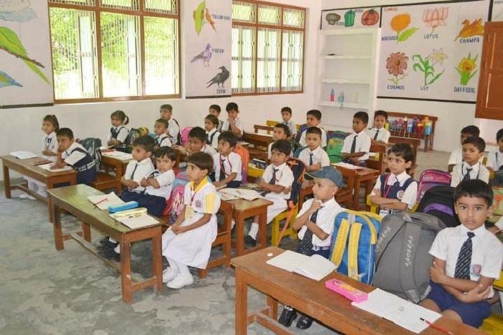 Little Flower School-Kids Classroom